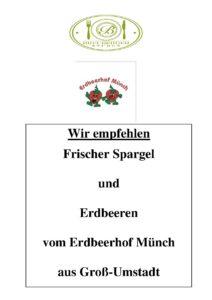 Plakat Spargel
